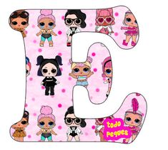Boy Birthday, Birthday Letters, Lol Doll Cake, Happy Birthday Printable, Bee Party, Paper Dolls Printable, Doll Party, Lol Dolls, Letters And Numbers