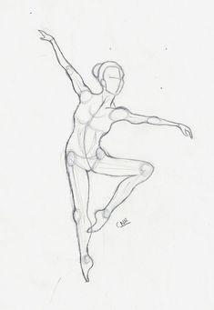 anatomy dancer :) - Dora A. Ballet Drawings, Dancing Drawings, Pencil Art Drawings, Art Drawings Sketches, Dancer Drawing, Painting & Drawing, Body Painting, Human Figure Drawing, Arte Sketchbook