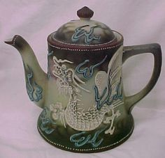 c.1930s 30 piece Nippon Made in Japan Moriage Dragonware Teaset