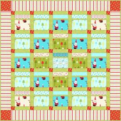 Advent Pocket Quilt! Fill the pockets of this cute quilted wall hanging with little trinkets and candies. Pull out one each day starting on December 1st and countdown all the way to Christmas Day!  The clean, modern fabrics make it a welcome addition to any Holiday decor. Sample made from Andover Fabrics: Santa Claus is Coming to Town and Dimples. This pattern is compatible with the AccuQuilt GO! Fabric Cutter and contains optional instructions for its use. Designed by  Dawn Stewart of…