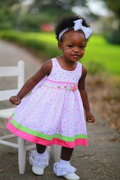 A Basket of Pink Roses Baby Girls Dress Sleeveless--Carousel Wear - 1