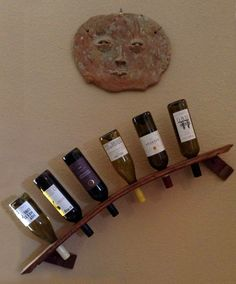Play one of such cost free Home-built violet rack plans to build a beer shelf for your own personal home or office or maybe as something. Best Picture For DIY Wine Rack repurpose For Y Wall Hanging Wine Rack, Wine Rack Design, Jewelry Box Plans, Pallet Wine, Wood Wine Racks, Industrial Wine Racks, Wine Shelves, Wine Gift Baskets, Wine Decor