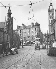 Lochee High Street Dundee City, Scotland Travel, Historical Pictures, Great Britain, Family History, Glasgow, Geography, Old Photos, Skyline