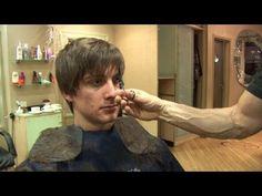 Mens Hairstyle For Medium Hair, How To Cut Hair In Layers ✂ Short Choppy Haircut Tutorial - YouTube