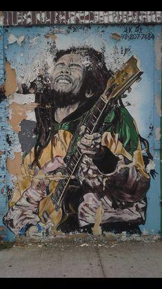 Street Art Bob Marley.....