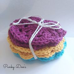 Set of 6 cotton coasters 8 posted  #forsale #instastyle #instagrammers #handmade #buyme #crochet #crocheting #crochetaddict #crochetlove #baby #cute #crocheted #gift #crochê #madewithlove #ilovecrochet #crochetersofinstagram #instacrochet #craft #croche #colors #crocheteveryday #crocheter #crochetlife #yarn #crochetlover #crochetgeek #madebyme #cotton #summer by punkydoos