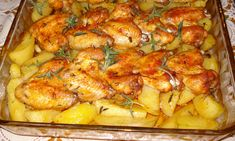 "Reteta culinara Cartofi noi si aripioare ""usturoiate"" din categoria Pui. Cum sa faci Cartofi noi si aripioare ""usturoiate"" Romanian Food, Romanian Recipes, My Favorite Food, Favorite Recipes, Chicken Wings, Shrimp, Main Dishes, Chicken Recipes, Cool Things To Buy"