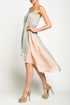Our Modal Silk Skirt can be a maxi skirt or a mid length dress. Featuring the trend of a fish tail. shop hautehippie.com