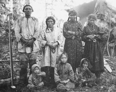 The Khanty people of Siberia from the Finno-Ugric picture collection taken by U.T. Sirelius dated 1898-1900