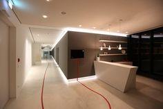 Beleuchtungsplanung  für den Empfangsbereich