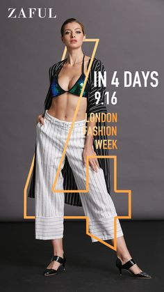 Check the london fashion show and discover the new styles of fashion show collection for women according to London Fashion Week spring summer 2019 at ZAFUL! Fashion Graphic Design, Graphic Design Trends, Web Design, Graphic Design Posters, Graphic Design Inspiration, London Fashion Week 2018, Cover Design, Posters Conception Graphique, Creative Poster Design
