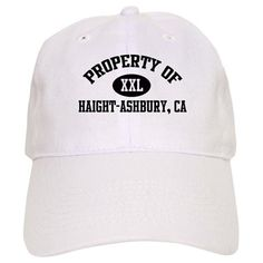 096765ef50c84 Property of HAIGHT-ASHBURY Baseball Cap on CafePress.com Baldwin Family