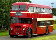 Albion Lowdecker - Albion was part of the British Leyland bus manufacturing operation