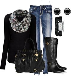 """Fall"" by honeybee20 on Polyvore  i want this outfit!! :)"