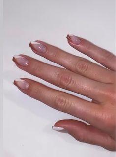Simple Acrylic Nails, Best Acrylic Nails, Acrylic Art, Minimalist Nails, Nail Swag, Stylish Nails, Trendy Nails, Sophisticated Nails, Kendall Jenner Nails