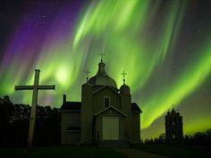 Auroras boreales desde Edmonton, Canadá – El Universo Hoy