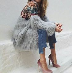 Style by Three: INSPIRATION - FAUX FUR