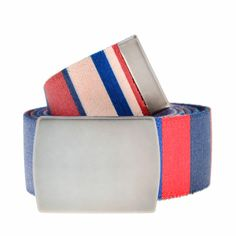 #TheArtOfGallo | Cintura nastro a righe multicolor #Gallo #belt #stripes #multicolor