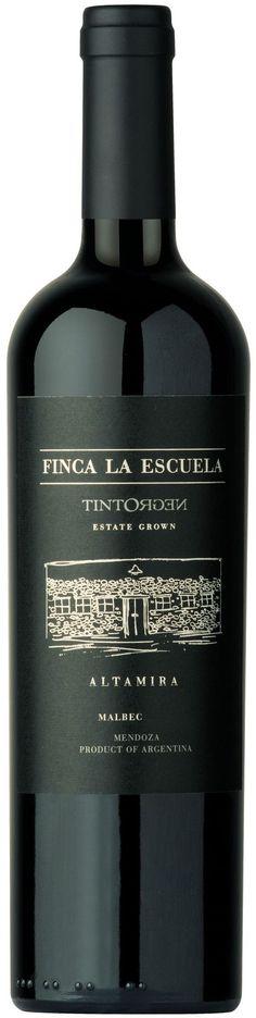 """""""Finca La Escuela"""" Malbec 2010 - Tinto Negro wines, Mendoza---Terroir: Altamira (San Carlos)-----Crianza: 12 meses en barricas de roble francés (50% nuevas)"""