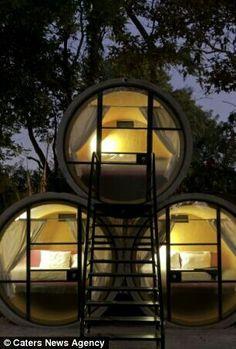 Unusual and bizarre hotel
