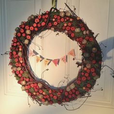 My DIY autumn wreath