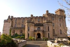 Dunvegan Castle, Isle of Skye, Scotland - Home of the MacLeod clan