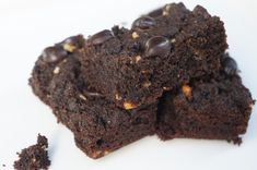Quest Nutrition Chocolate Peanut Butter Brownies