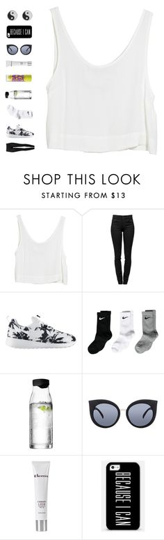 """""""i'm not the only one"""" by ouchm4rvel ❤ liked on Polyvore featuring MINKPINK, Proenza Schouler, NIKE, Menu, Quay, Maybelline, Elemis and 1&20 Blackbirds"""