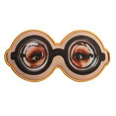 Máscara de Dormir Óculos Fundo de Garrafa