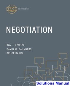 Negotiation 7th edition lewicki test bank test bank solutions negotiation 7th edition lewicki solutions manual test bank solutions manual exam bank fandeluxe Image collections