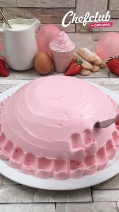 Cake Decorating Videos, Cake Decorating Techniques, Baking Recipes, Cake Recipes, Dessert Recipes, Delicious Desserts, Yummy Food, Food Crafts, Summer Desserts