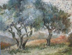 oliviers  | Les Oliviers sur la Colline