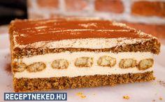 Diós-babapiskótás süti recept fotóval Izu, Tiramisu, Cake, Ethnic Recipes, Food, Food Cakes, Eten, Cakes, Tiramisu Cake