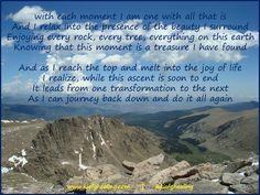 #Transcend #JourneyBackDown #DoItAllAgain