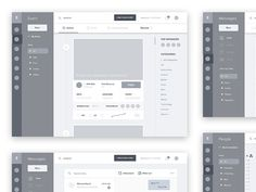 Hello guys, this is the first Fikristudio's shot, we are small creative UI-UX studio based in Indonesia.  This shot is about our work in progress.. a wireframe for event management service.. more s.... If you like UX, design, or design thinking, check out theuxblog.com