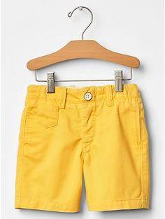 Solid flat front shorts | Gap