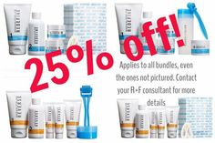 Flash sale!!  25% OFF a Rodan + Fields bundle of your choice when you sign up as a New Preferred Customer with me before midnight Sunday June 26, 2016.  A bundle is any regimen plus a Redefine Acute Care or Redefine Micro Exfoliating Roller.  Preferred customers enjoy free shipping and 10% off on all future orders!  michelleallen7.myrandf.com  michelleallenwithrandf@gmail.com