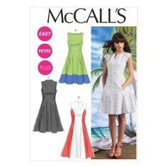 McCall Pattern Company M6741 Misses'/Women's Petite Lined Dresses Sewing Template, Size B5 (8-10-12-14-16) McCall Pattern Company http://www.amazon.com/dp/B00CGRPA9Q/ref=cm_sw_r_pi_dp_intdwb17KPTNJ
