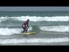 A few weeks ago we asked our viewers to submit their challenges to compete against Max Sapulette. Cosima from Hamburg is the lucky girl to battle against Max. Surfing Tips, Pro Surfers, Lucky Girl, Surfboard, Haha, Waves, Learning, Beach, Outdoor