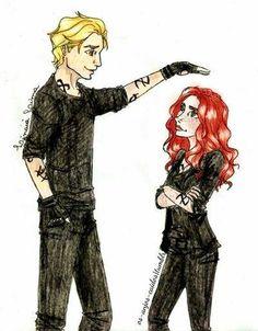 Jace & Clary fan-art