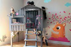 fresque murale decoration chambre enfant