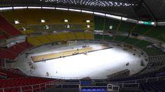 Colombia Arena Futsal with sports parquet Dalla Riva
