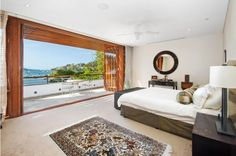 Sydney Harbour at the end of your bed