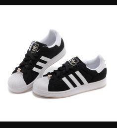 new arrival fe441 d8a5b Adidas Negros, Adidas Blancas, Tenis, Encanta, Zapatos Negros Adidas, Ideas  Para El Armario, Paños, Entrenadores, Cordones Negros