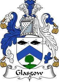 Glasgow Coat of Arms / Glasgow Family Crest