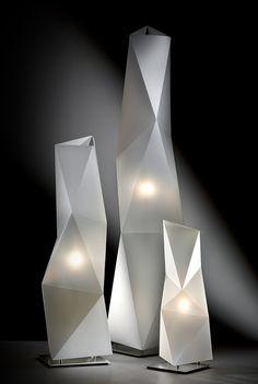 Lighting Design // Diamond   Design by Ines Paolucci, Daniele Statera