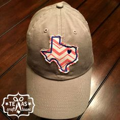 Texas Patch Personalized Love Heart Baseball Hats