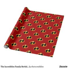 The Incredibles Family Birthday Wrapping Paper. Are you a fan of The Incredibles? Here are cool customizable designs that makes perfect gifts for friend, families or yourself. Superhero Birthday Party, Girl Birthday, Disney Incredibles, Disney Pixar, Disney Pillows, Disney Wall Art, Disney Games, Disney Mugs, Disney Designs
