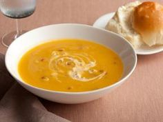 Omg, Butternut Squash soup with chipolte sour cream. We serve it with blt's on the side or just throw bacon in it.