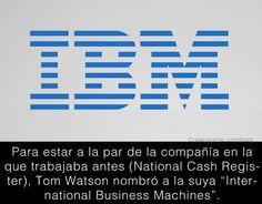 Significado logo IBM